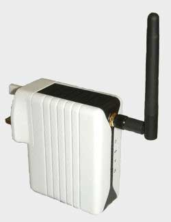 Wireless Homeplug network device
